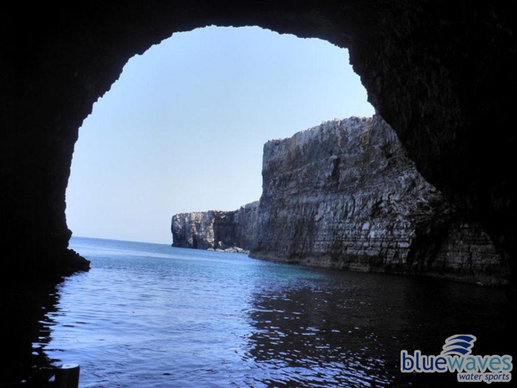 Comino caves trip