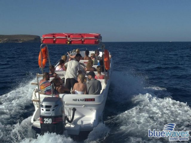 Bluewaves watersports speed boat trips