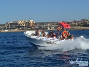 Boat charters with Bluewaves Watersports