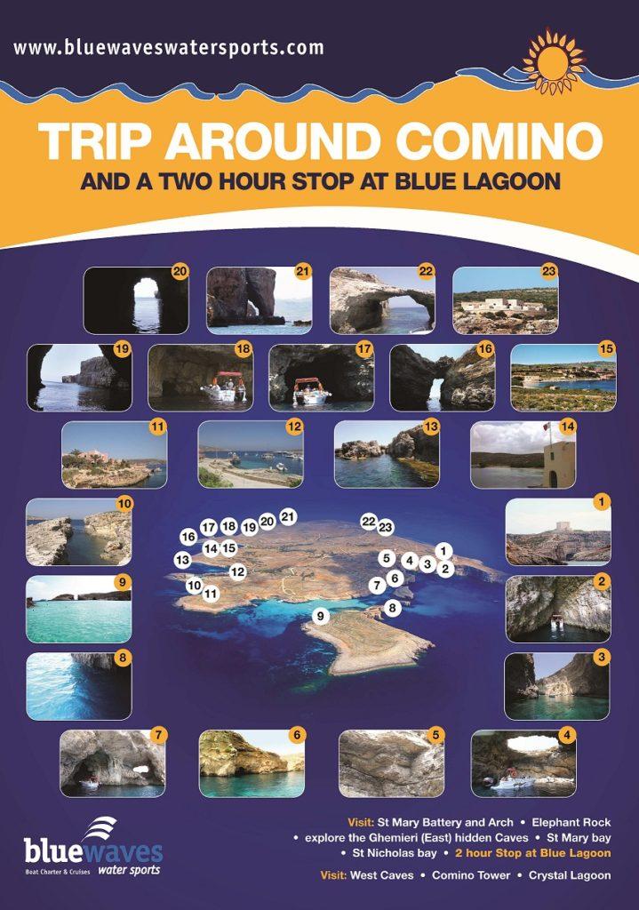 Trip to Bluelagoon and around Comino