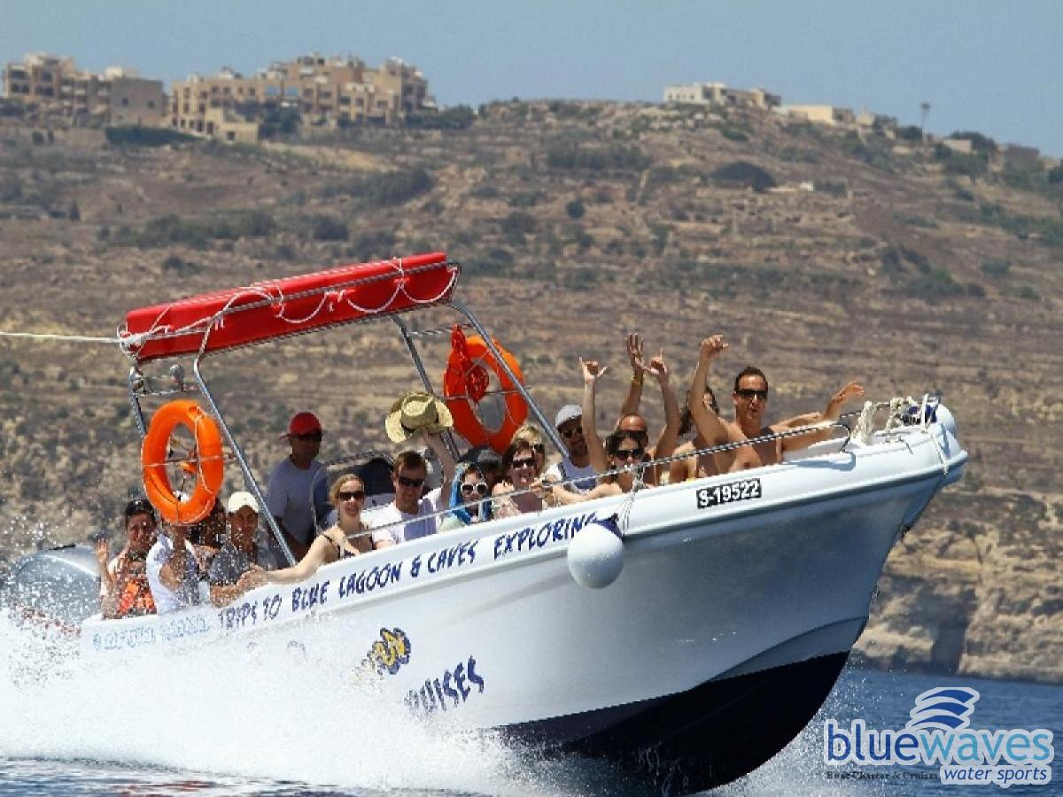 Trips to Comino and Blue Lagoon Malta