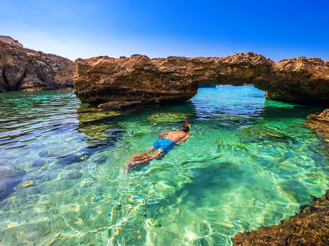 Swim at Comino