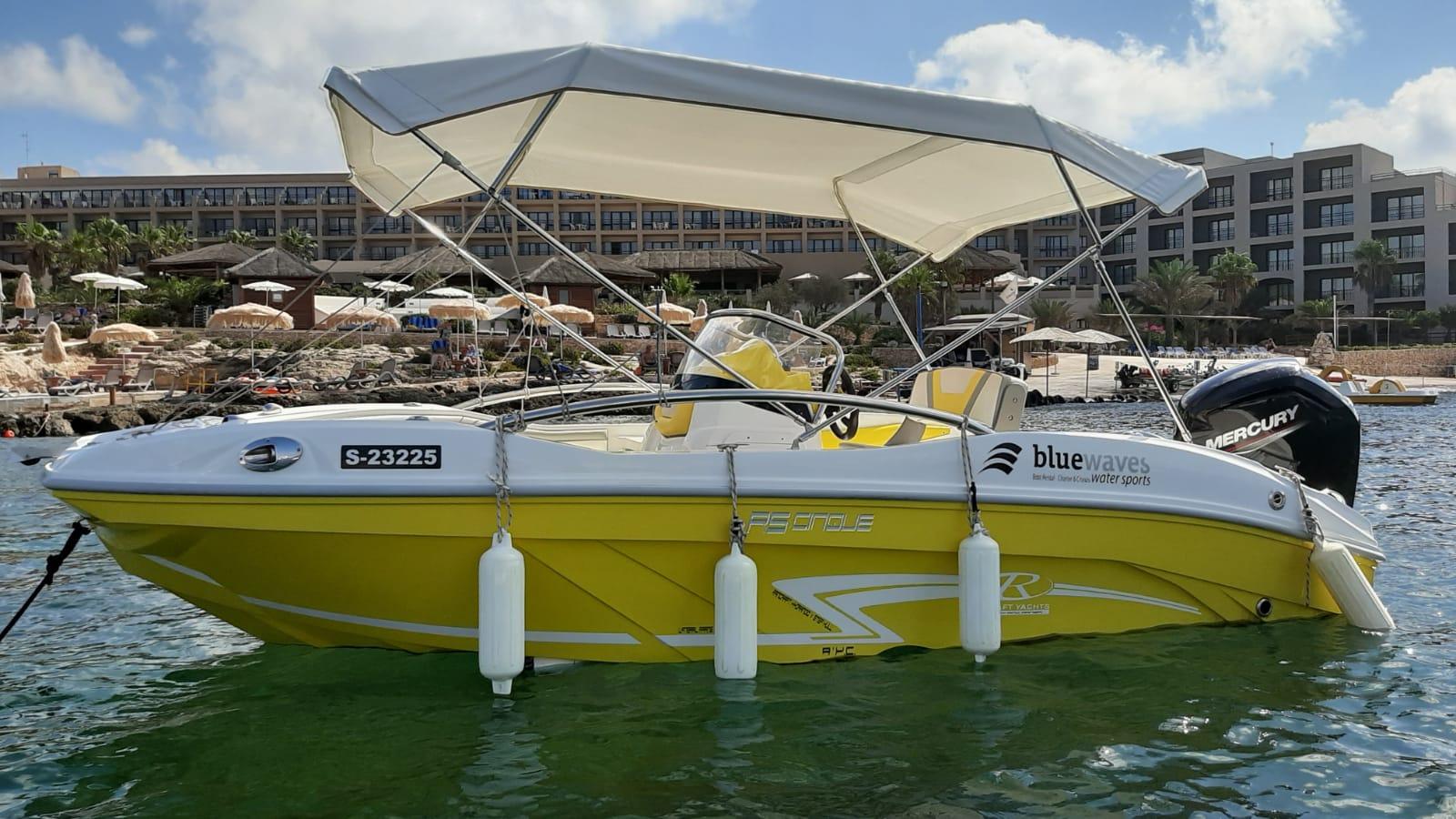 Self Drive Boat