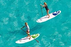 rent sup and wind surfing board